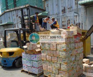 Công ty Sài Thành thực hiện tiêu hủy lô hàng hóa