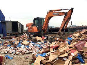 Dịch vụ tiêu hủy hàng hóa