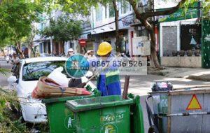 Vận động người dân không xả rác ra kênh, rạch