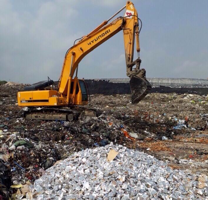 Quy trình tiêu hủy hàng hóa