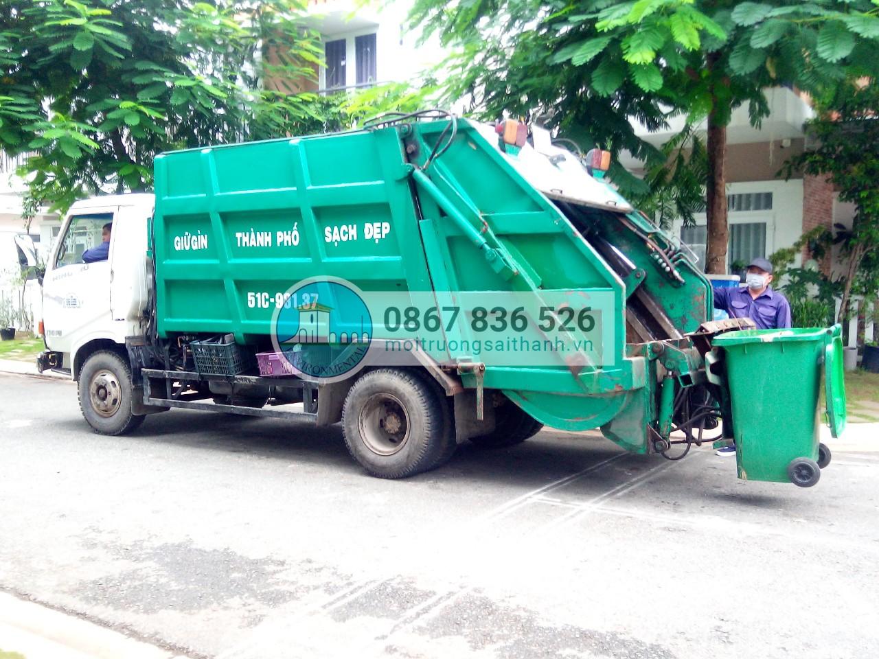 Thu gom rác sinh hoạt