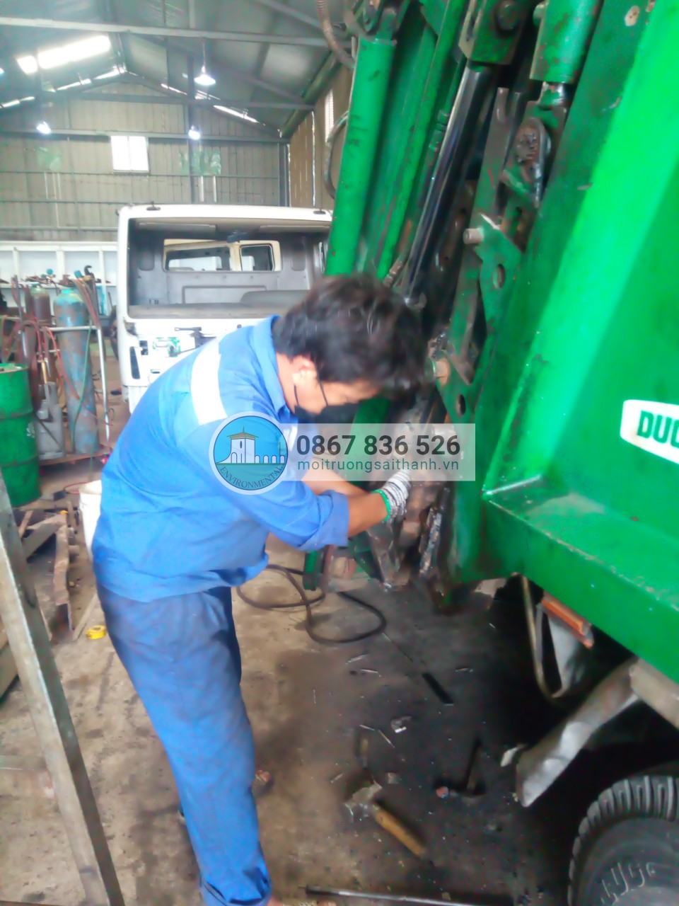 Sửa chữa xe ép rác