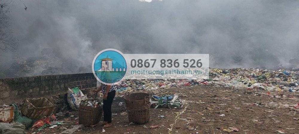 Cháy lớn ở Nghệ An