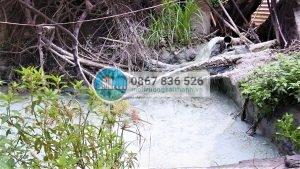 Nước thải từ các cơ sở sản xuất giấy tại làng nghề giấy Phong Khê gây ô nhiễm môi trường nghiêm trọng